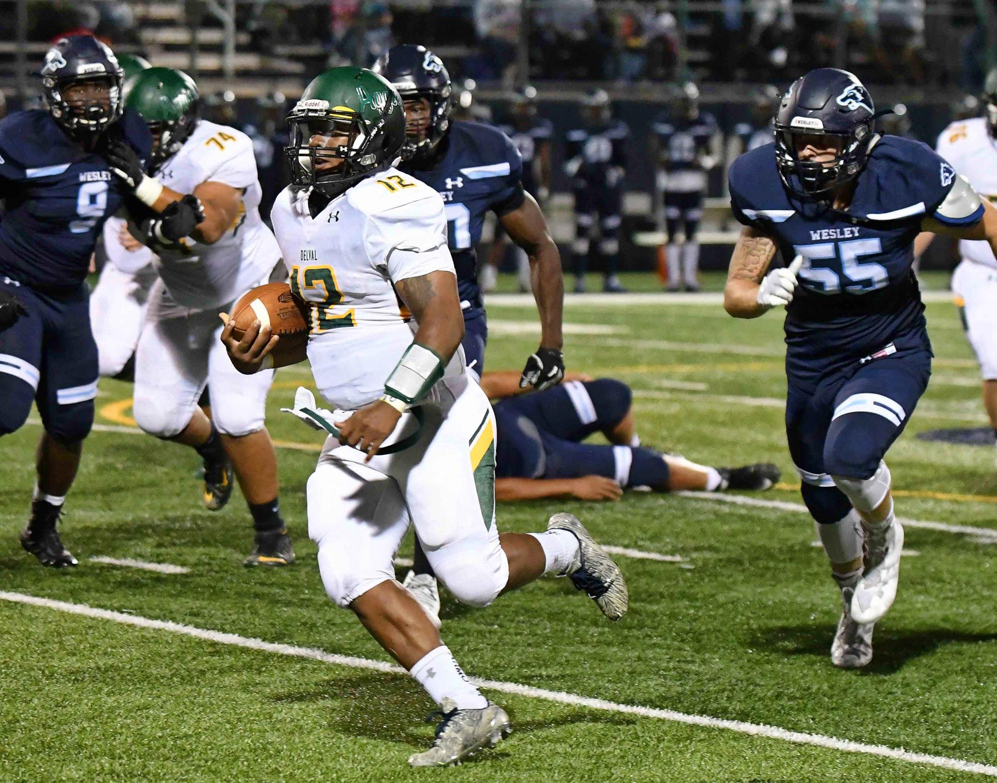 Aggie Football Routs UMass Dartmouth, 52-21 - Delaware Valley ...